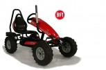 Dino Cars Gokart CASE BF1 rot inkl. Überrollbügel