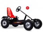Dino Cars Gokart Sport Prof F schwarz mit Stahlfelgen - schwarz - Pro Line