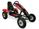 Limited Edition - Dino Cars Gokart Steel Racer BF1 - mit Stahlfelge