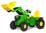 rolly toys - rollyFarmtrac John Deere 6210 R grün inkl. Ladeschaufel
