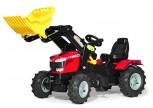 rolly toys - rollyFarmtrec Massey Ferguson 8650 rot mit Ladeschaufel und Luftbereifung