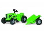 rolly toys - rollyKiddy Futura grün inkl. Anhänger