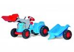 rolly toys - rollyKiddy Classic blau inkl. Lader und Anhänger