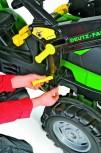rolly toys - rollyFarmtrac Deutz Fahr grün inkl. Ladeschaufel- - Premium