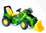 rolly toys - rollyFarmtrac John Deere 7930 grün inkl. Ladeschaufel, Zweigangschaltung,  Luftbereifung - Premium