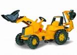 rolly toys - rollyJunior CAT gelb inkl. Ladeschaufel und Heckbagger