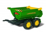 rolly toys - rollyHalfpipe John Deere grün -  Anhänger