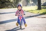 Kurve Union Jack - Laufrad von Kiddimoto