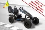 Dino Cars Gokart linostar Shadow BF-3 inkl. Zusatzsitz & Fahne - mit deinem Namen