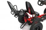 Dino Cars Zusatzsitz XL - Soziussitz mit Armlehne und Kippschutz