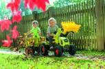 rolly toys - rollyFarmtrac Claas Axos rot inkl. Ladeschaufel und Luftbereifung