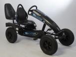Dino Cars Gokart linostar Shadow AF inkl. Zusatzsitz & Fahne - mit deinem Namen