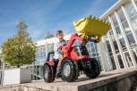 rolly toys - rollyX-Trac Premium rot mit Ladeschaufel und Zweigangschaltung