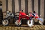 Kurve limited Evel Knievel - Laufrad von Kiddimoto